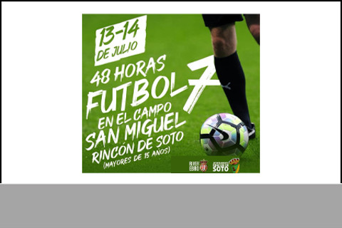 48 horas Futbol 7 Rincon de Soto (14/07/2019)